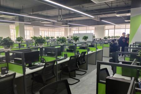 热烈庆祝本公司承接安徽迪科数金科技有限公司武汉职场弱电工程!